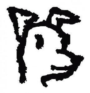 Independent Dog Face logo